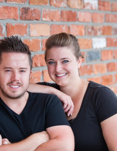 Marcus & Rachel, owners of High Society Cheesecake resized